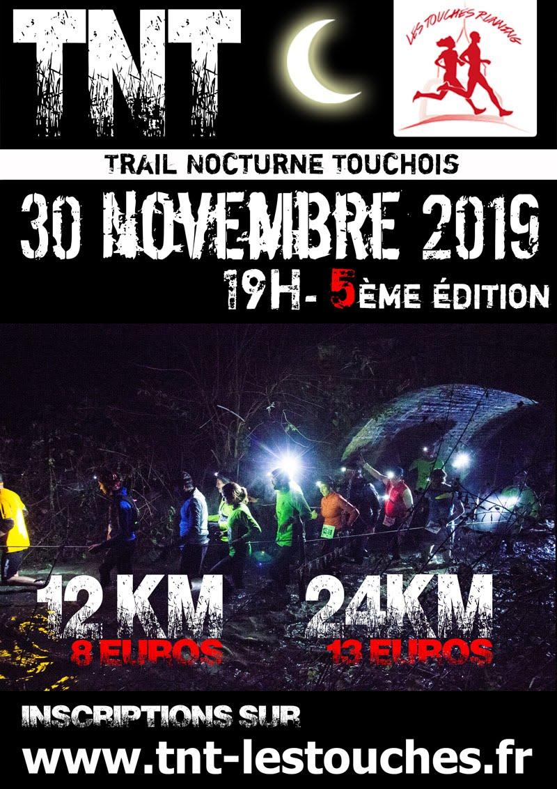 Trail Nocturne Touchois