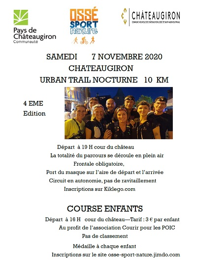 Chateaugiron urban trail